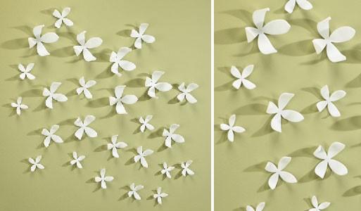 Wall flowers accessories better living through design - Wall flower design ...