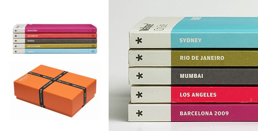 Box set of Wallpaper* City Guides