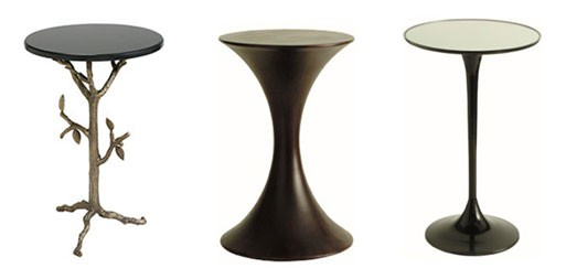 Sherwood Brass, Black Walnut and Jetson End Tables