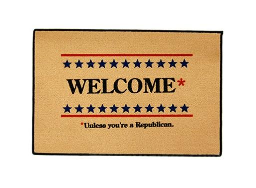 Welcome* Doormat