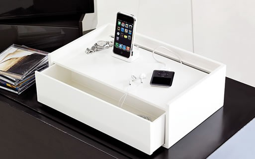 Lacquer Docking Station Accessories Better Living