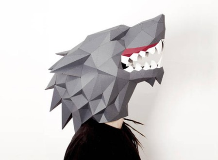 Paper Masks by SmagaPaperwood