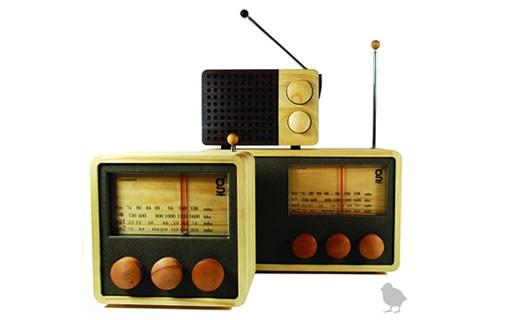 Singgih Kartono Magno Wooden Radio
