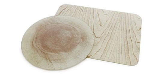 Wood Pattern Glass Cutting Boards