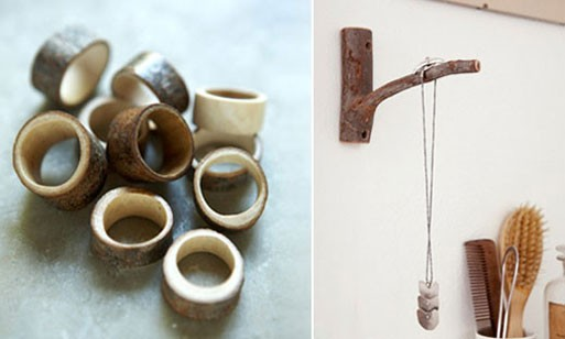 Wood Rings and Hooks