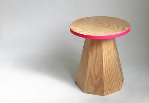 Wooden Beisteller (Side Table)
