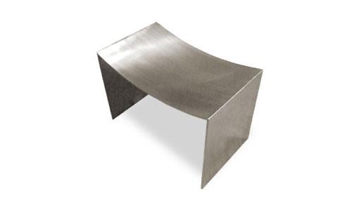 Steel Scoop Stool