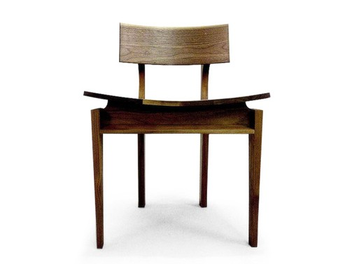 45 Degrees: Walnut Chair