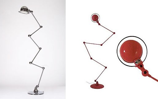 Zig-Zag Loft Floor Lamp