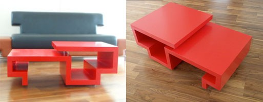 ZigZag Coffee Table