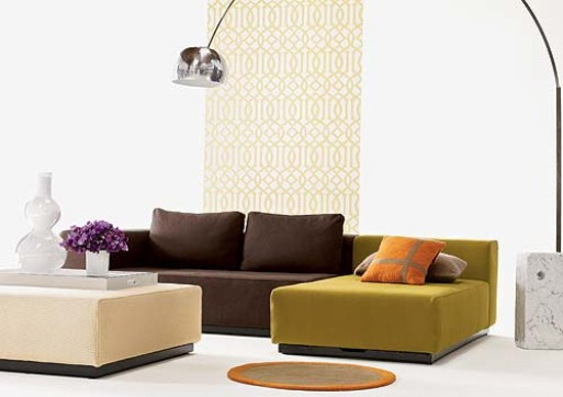 Vega Chaise, Sofa & Ottoman