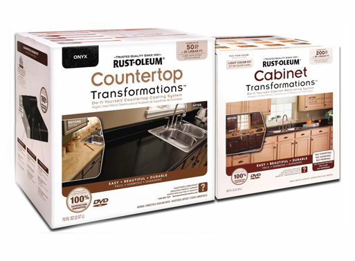 rust oleum cabinet and countertop transformations diy better