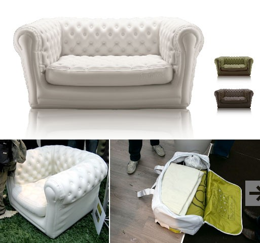 Inflatable Chesterfield Sofa Hire: Blofield Chesterfield Inflatable Sofa