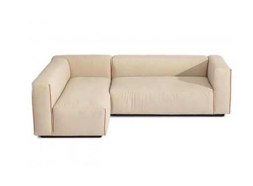 Cleon small sectional sofa furnishings better living for Small sectional sofa