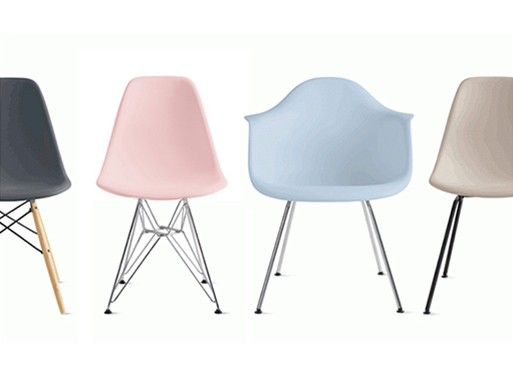 Eames Molded Plastic Chairs