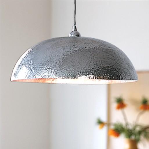 Hammered Metal Pendant Lamp