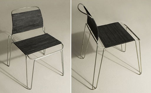 Rubber Band Chair By Tom Dixon Dining And Side Chairs