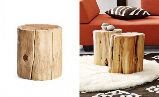tree stump side table Natural Tree Stump Side Table — FURNISHINGS    Better Living  tree stump side table