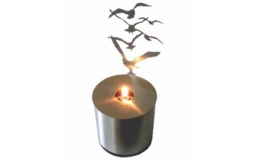 Lumen Oil Lamp, Flock
