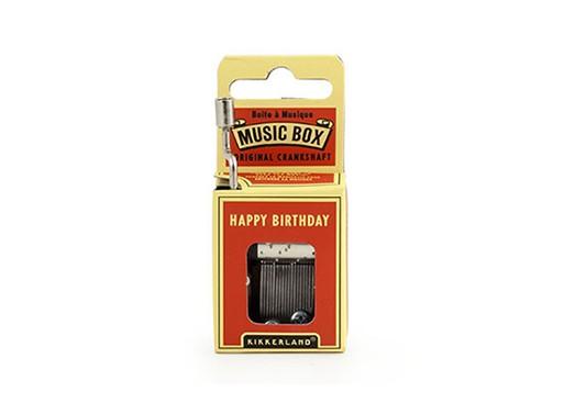 Happy Birthday Crank Music Box