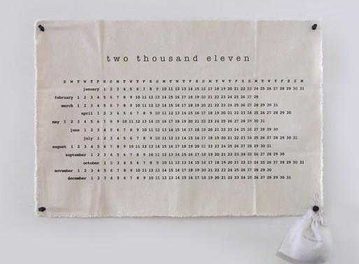 Two Thousand Eleven Calendar