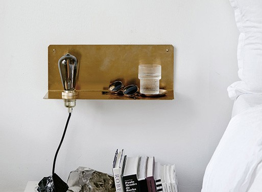 90 Degree Wall Shelf by Frama Denmark