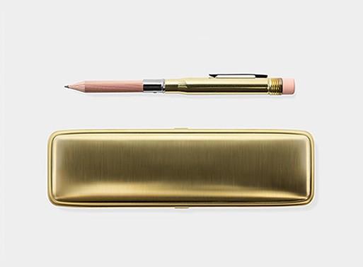 Midori Brass Pencil and Case