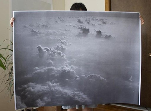 Clouds Poster by Debbie Carlos