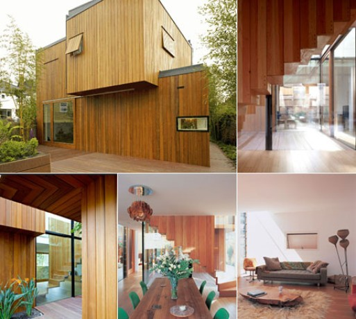 Glass and Timber Houses (Hampson Williams Ltd)