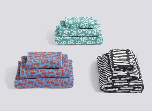 HE SHE IT Towels by Hay Denmark