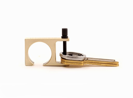Minimalist 2 Key Ring Bottle Opener