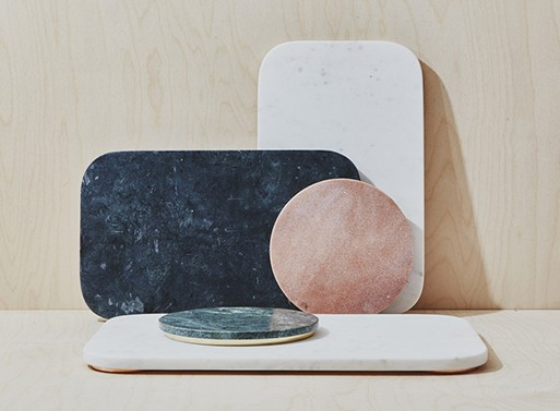 Mara Marble Serving Collection