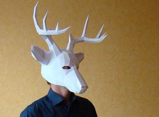 Papercraft Halloween Masks