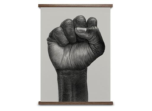Raised Fist Poster