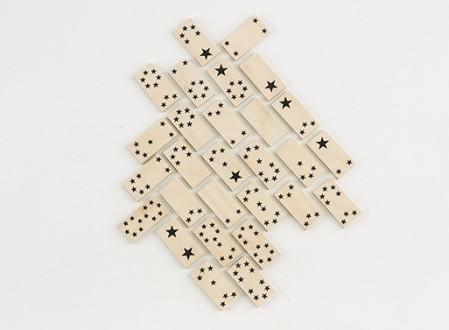 Fredericks & Mae Star Dominos