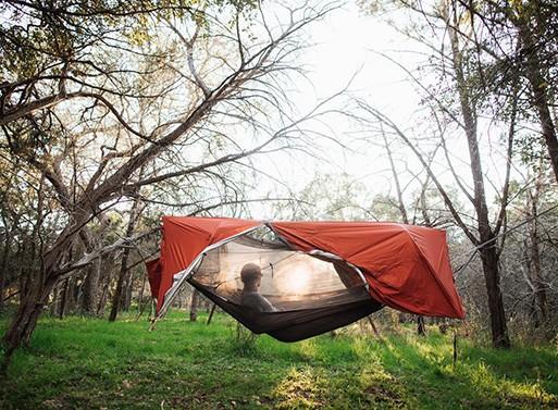 Sunda: 2+ Person Tent & All-in-One Hammock
