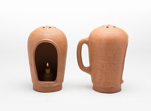 Terracotta Lantern