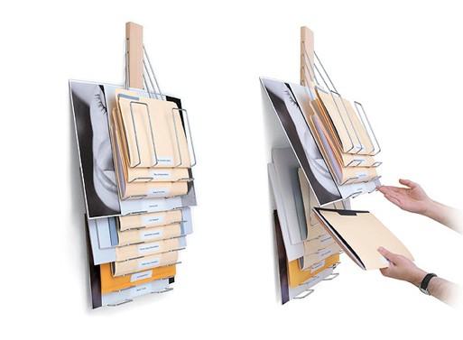 Up Filer Universal Vertical Filing Rack