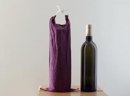 Washi Paper Wine Bottle Bag