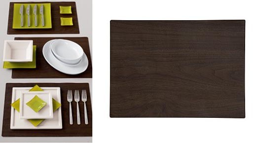 Wood Grain Placemat