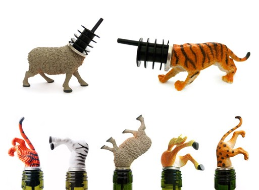 Animal Wine Stoppers