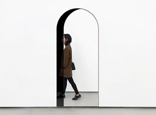 Arch Floor Mirror
