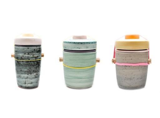 Segmented Jars by Ben Fiess