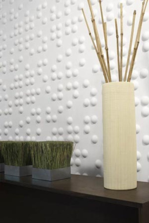 Braille Wall Flats by Inhabit