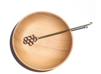Brass Honey Dipper