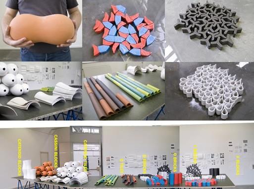 Loose Fit Experimental Building Materials