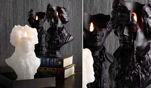 Mortimer Bust Candle