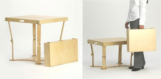 Case Dining and Coffee Table (foldable)