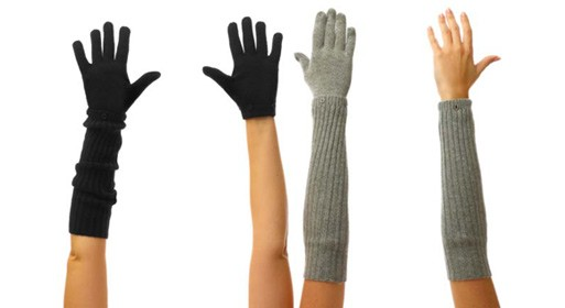Versatile Cashmere 2-in-1 Gloves