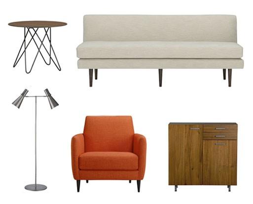 Draper Sofa, Parlour Chair, etc.
